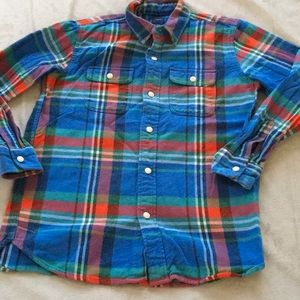 Boys Gap Heavy Flannel  XXL(14/16)